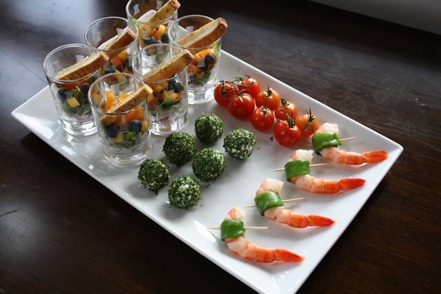 Jackie FoSpring Appetizers!