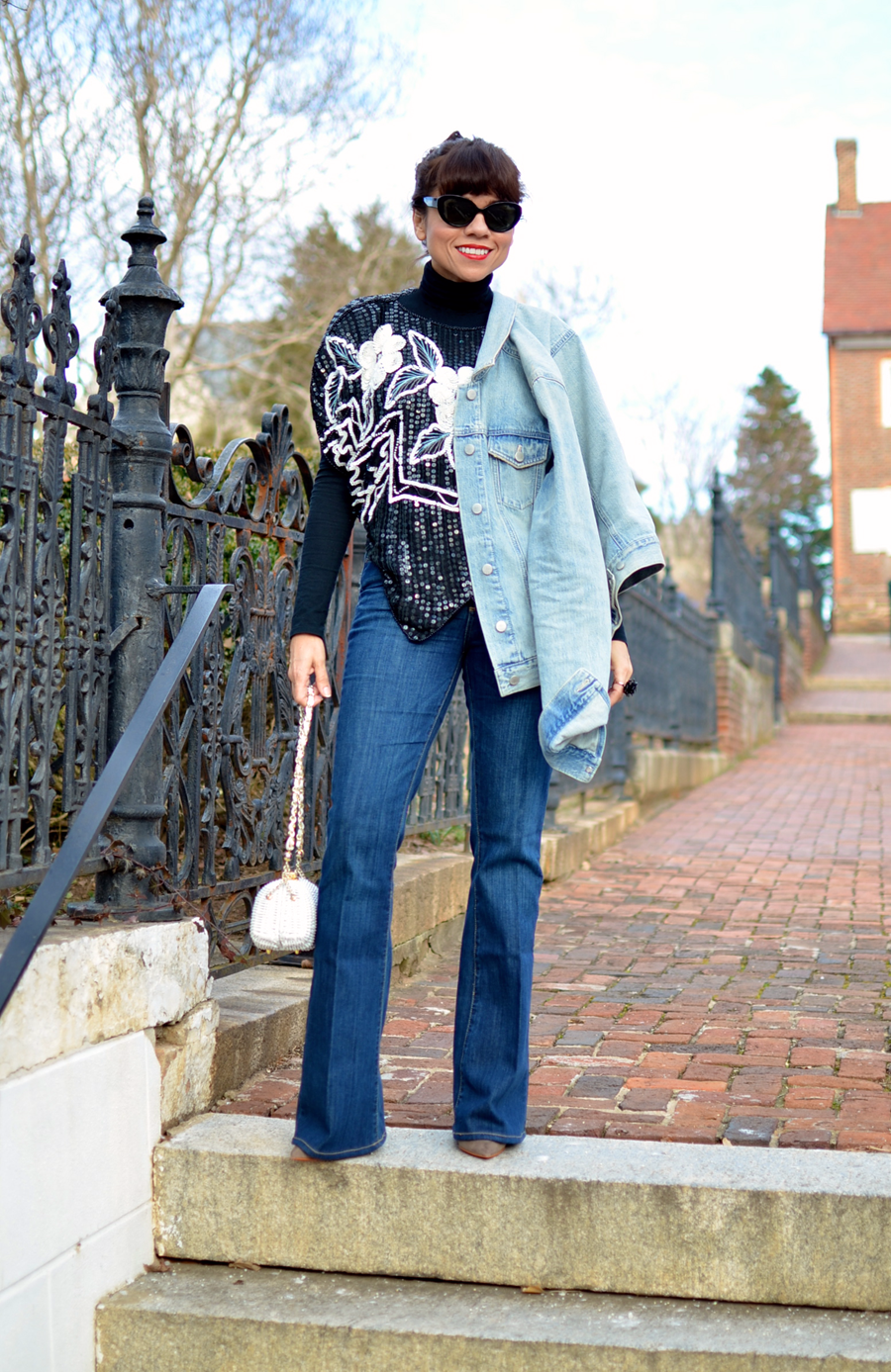 Flare jeans trend
