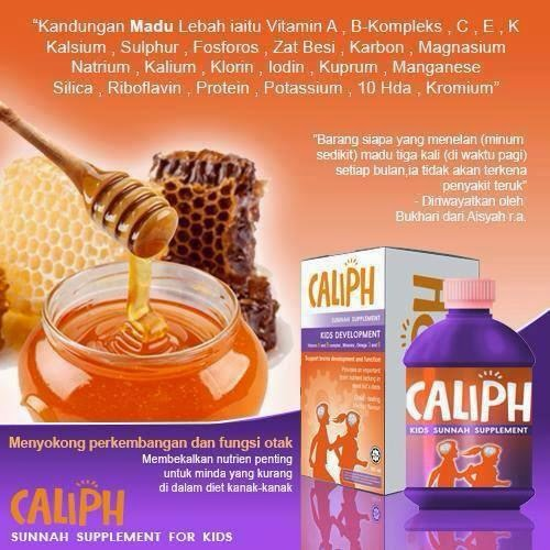 Jus Caliph Sunnah Suppliment Minda Anak Anak