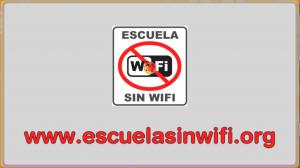 Campaña 'Escuela sin wifi'