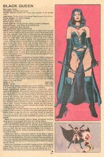 Reina Negra (ficha marvel comics)
