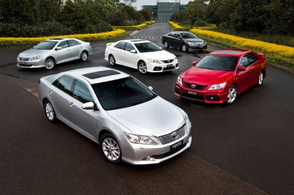Toyota Aurion 2013 photos
