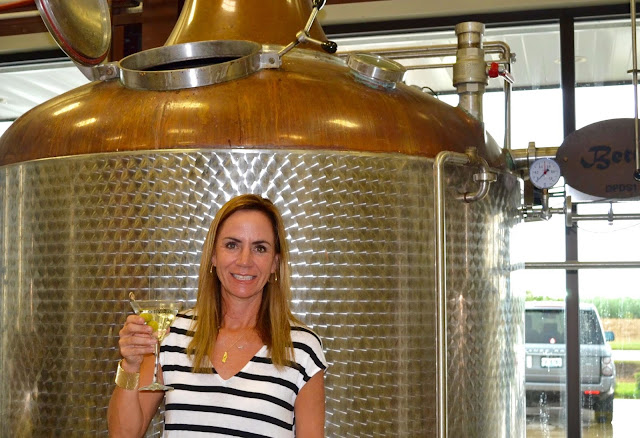 Co-founder, Co-Owner, and President of Donner-Peltier Distillery in Thibodaux, Louisiana Photo courtesy of the Donner-Peltier Distillery