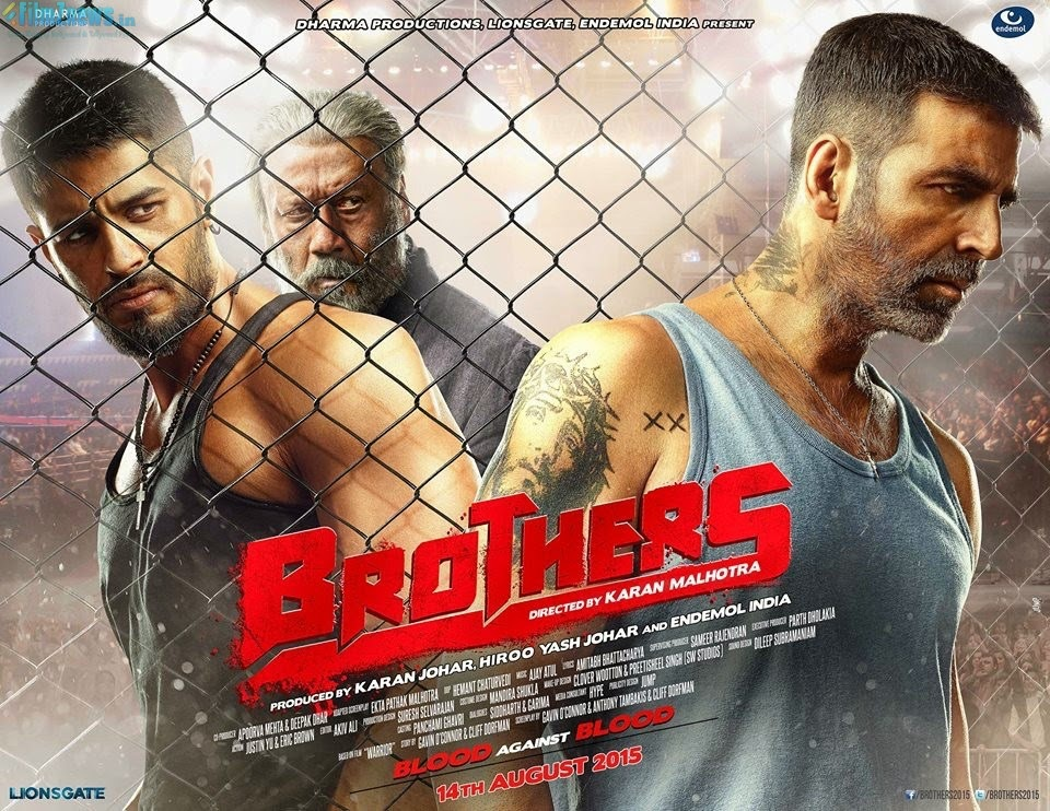 Brothers (2015) First Look Poster