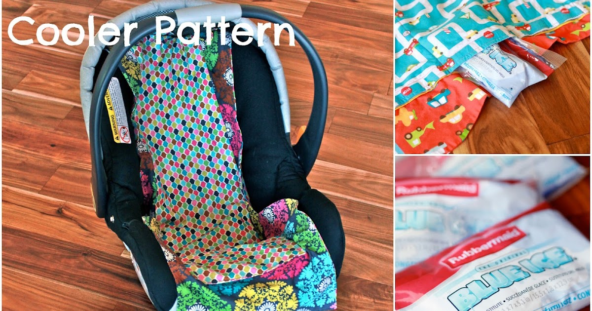 domestic charm diy car seat cooler with free pattern. Black Bedroom Furniture Sets. Home Design Ideas