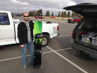 Bigger & Better Trade: Snowboard and Bindings for set of Chrome Rims