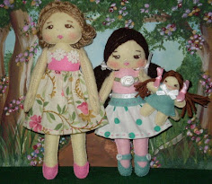 Mother And Child Felt Doll