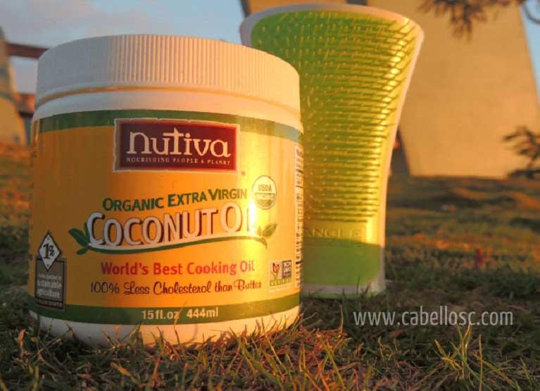 Compre aceite de coco virgen
