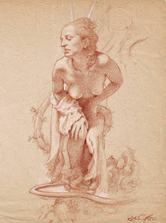 mujeres-en-dibujos-hechos-con-sanguina