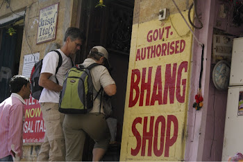 INDIA 2011: local bhang shop