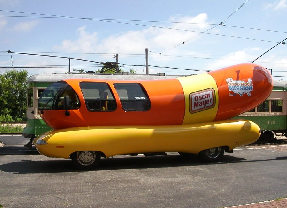 Hot Diggity Dog The Wienermobile Food Truck Is  ing To Det besides Oscar Mayer Wienermobile furthermore Hot Dog as well Oscar Nominees Grammys n 4673677 in addition Oscar Mayer Wienermobile. on oscar meyer dog truck