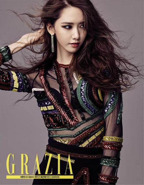 Foto YoonA Grazia September 2015