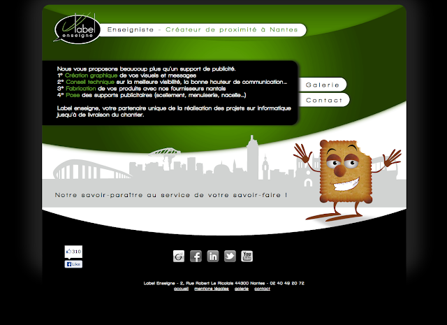Nouveau site Label Enseigne, toujours plus de services pour mieux vous servir à Nantes