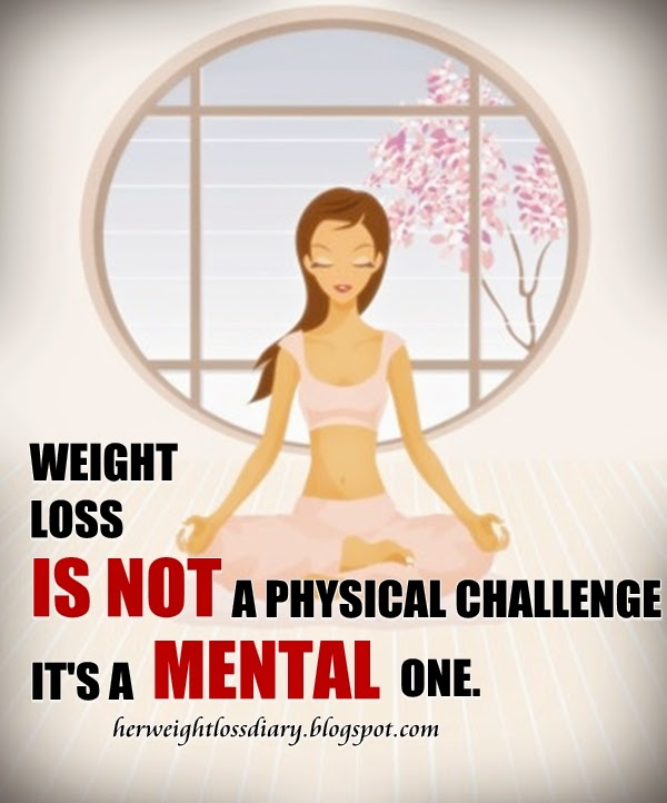 Dieting mentality for weight loss