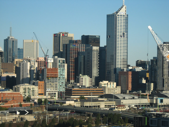 melbourne city skyliine