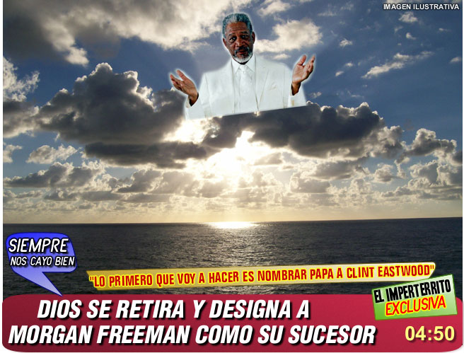 morgan freeman, dios