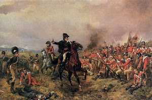 Wellington and his redcoats