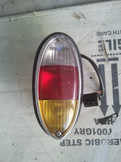 Tail light with bezel Volvo 122S