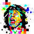 Mozaik Pop Art Mick Jagger