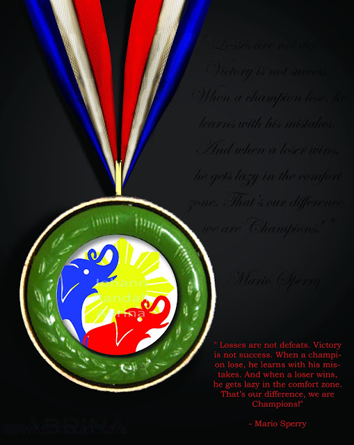 Philippine Memory Championship Medal