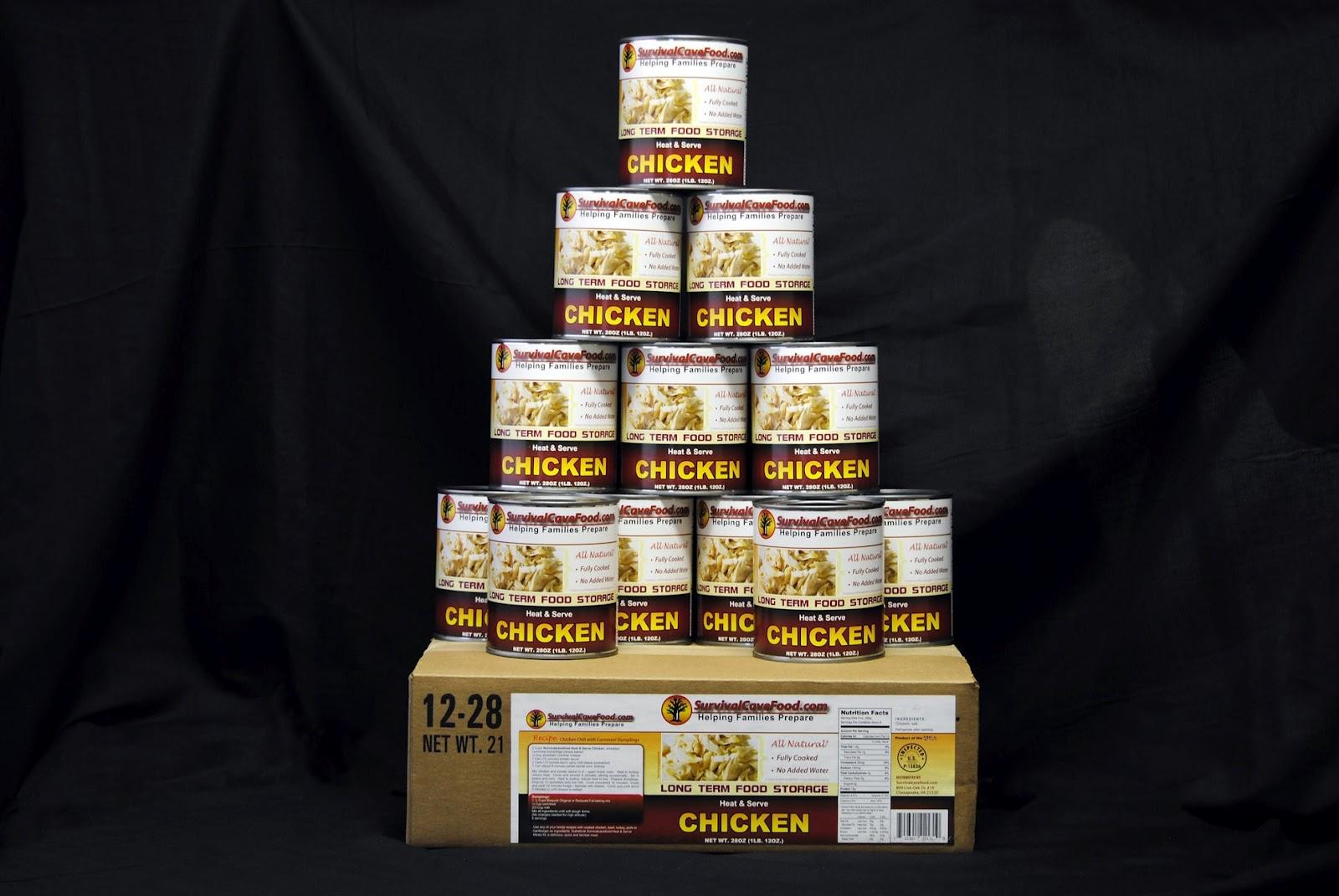 Canned food survival kit list