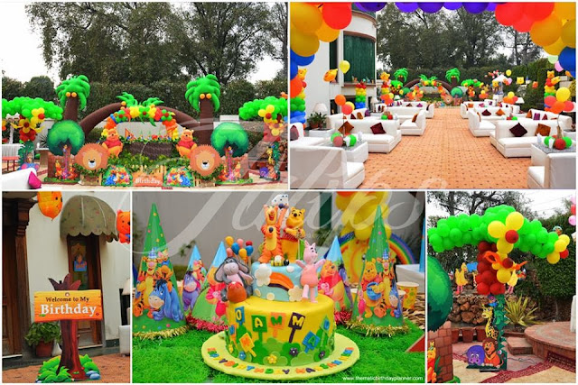 Extravagant Pirthday Parties Pakistan - Tulips events
