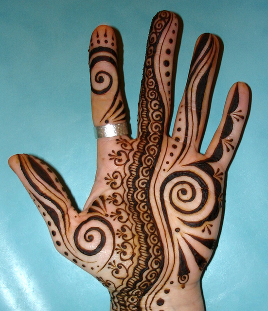 new year mehendi designs