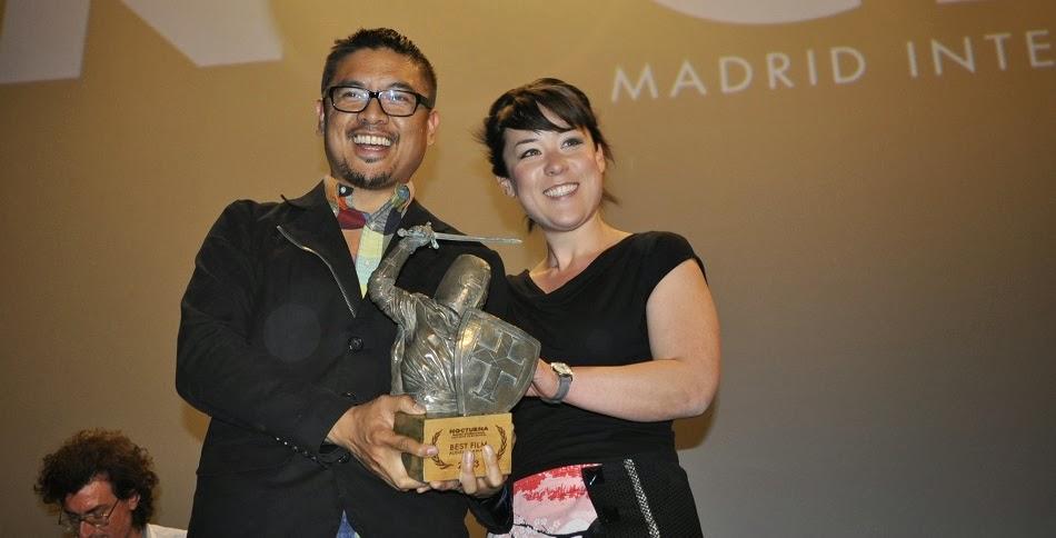 H.P.Mendoza y Anna Anna Ishida en Nocturna Festival
