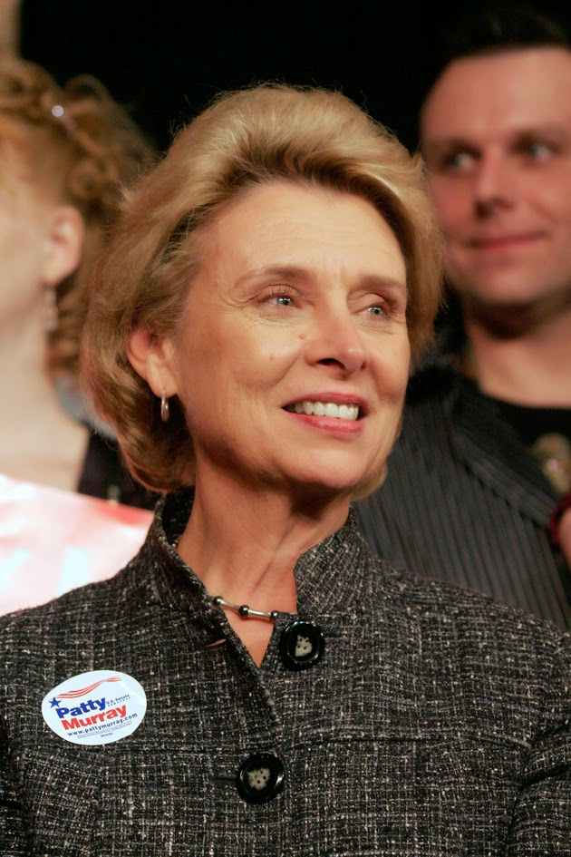 Former Washington Gov. Christine Gregoire objected to  borrowing against tobacco revenues but lost. Her state shied  away from high-risk bonds. (Joseph Taylor/Getty Images)