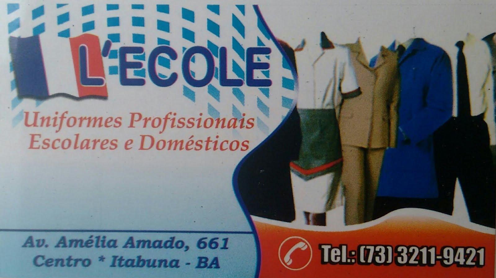 L'ECOLE - INFORMAÇÕES (73)3211-9421