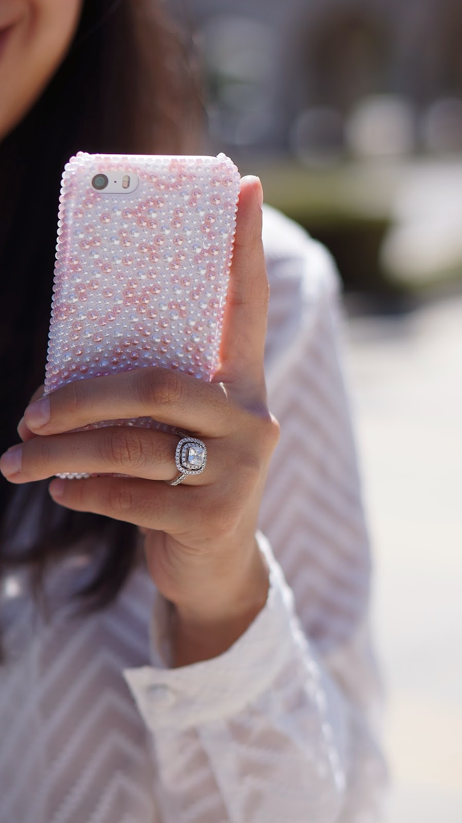 iPhone 5s cover. Robbins Brothers Engagement ring. Stylish Phone Case