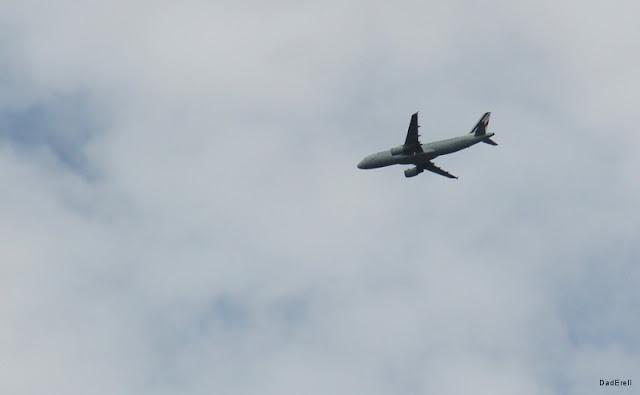 Tempête à Lyon : avion A320