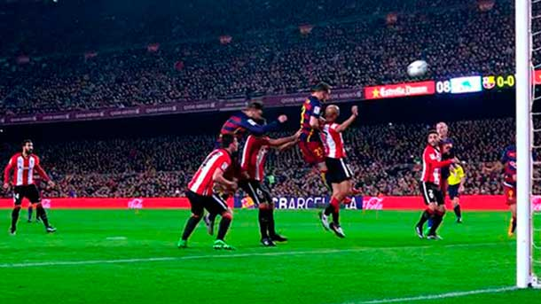 Gol injustamente anulado a Vermaelen ante el Athletic Club
