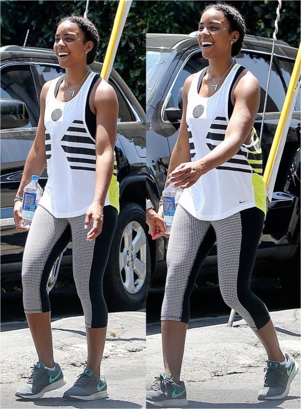 Kelly Rowland Zobha Fitness Capris