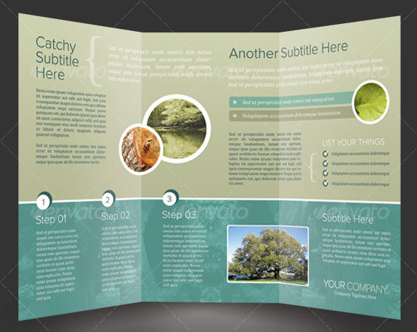 Brochure zafira pics indesign brochure templates for Adobe brochure templates
