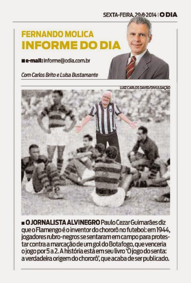 Coluna Fernando Molica, O Dia