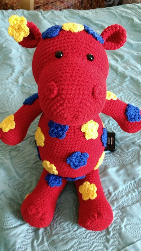 A Very Special Hippo