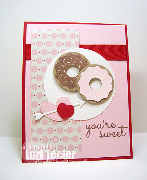 You're Sweet card-designed by Lori Tecler/Inking Aloud-stamps from Sugar Pea Designs