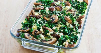 ... Kitchen®: Kale, Mushroom, Feta, and Mozzarella Breakfast Casserole