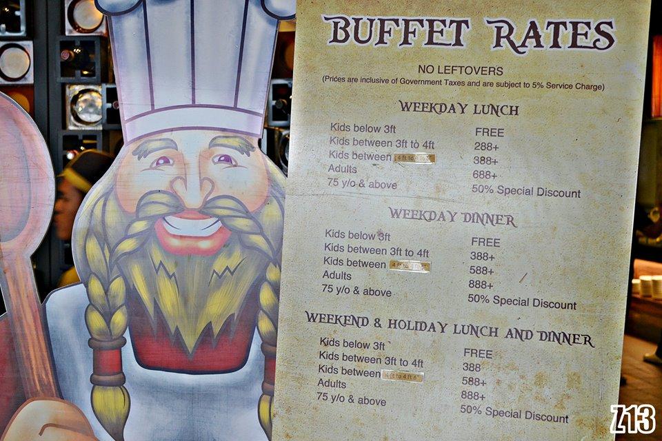 Vikings buffet coupon
