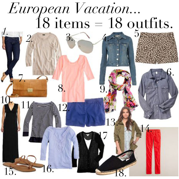 Jillggu0026#39;s Good Life (for Less) | A West Michigan Style Blog What To Pack Europe! {18 Days In ...