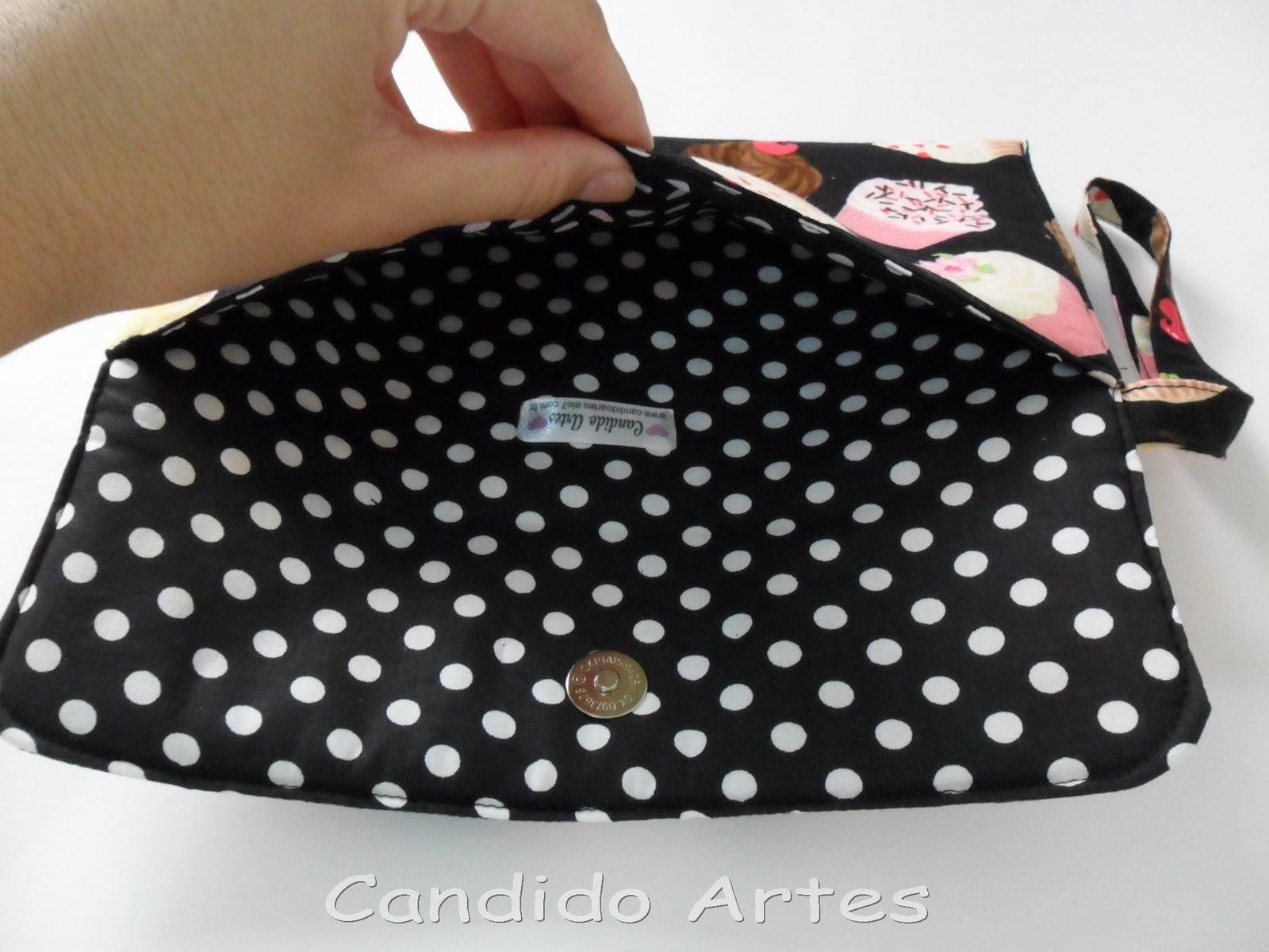 Bolsa De Mão Artesanal Passo A Passo : Artesanato candido artes bolsa de m?o carteira tecido