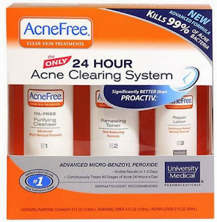 free acne problem