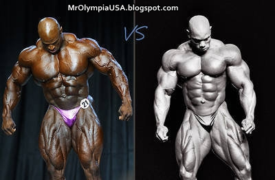 Ronnie Coleman Vs Arnold The gallery for...