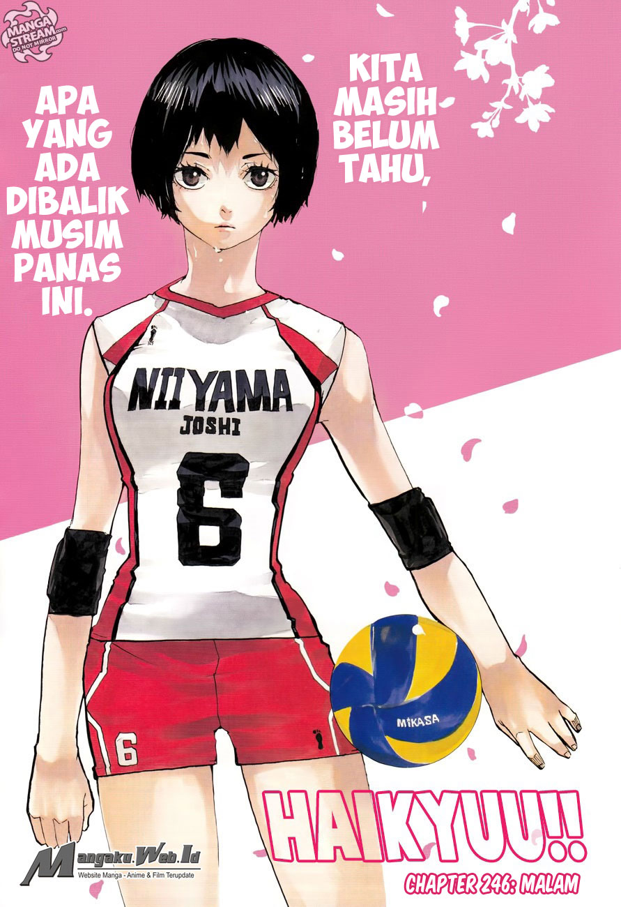 Haikyuu!! Chapter 246-1