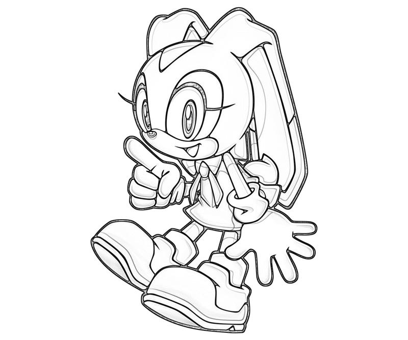 Sonic Chao Coloring Pages Faces | www.imagenesmy.com