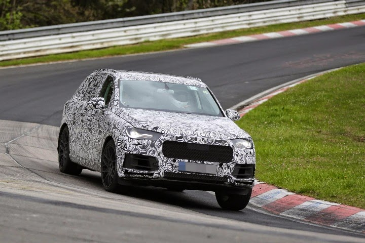 New 2015 Audi Q7 Next Generation first spy photos