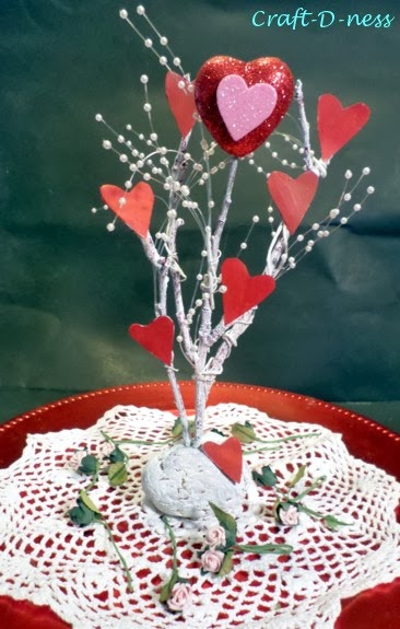 Heart Tree for Valentine's Day without the Bell Jar