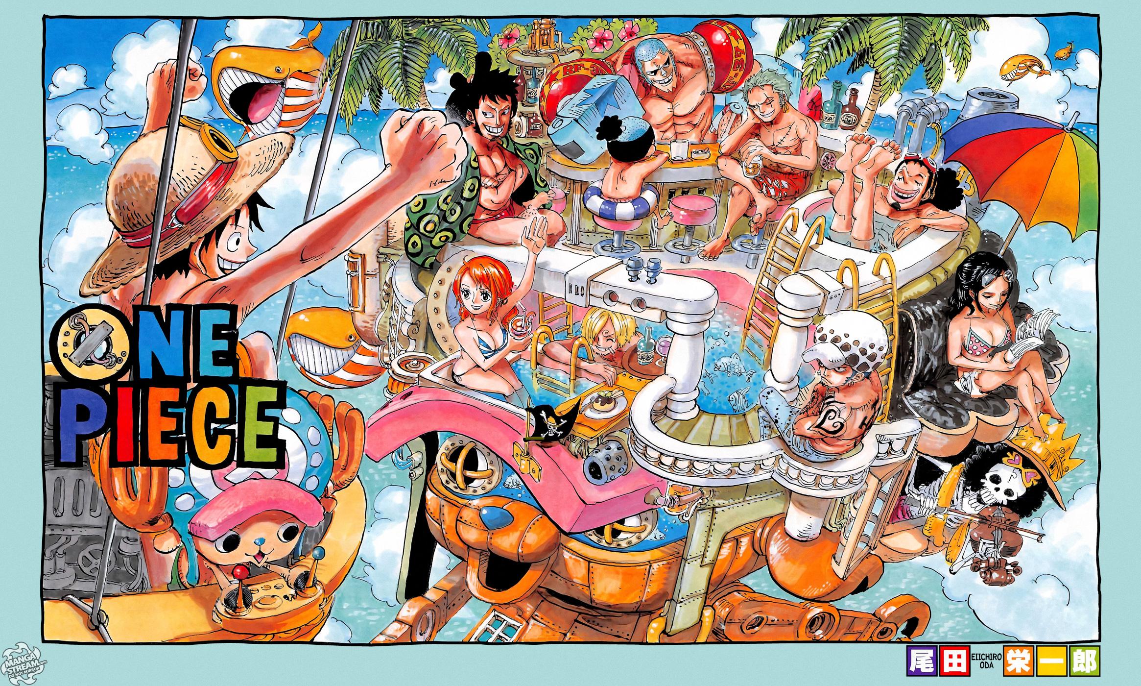 One Piece Chapter 717: Những người Dressrosa bị lãng quên 001