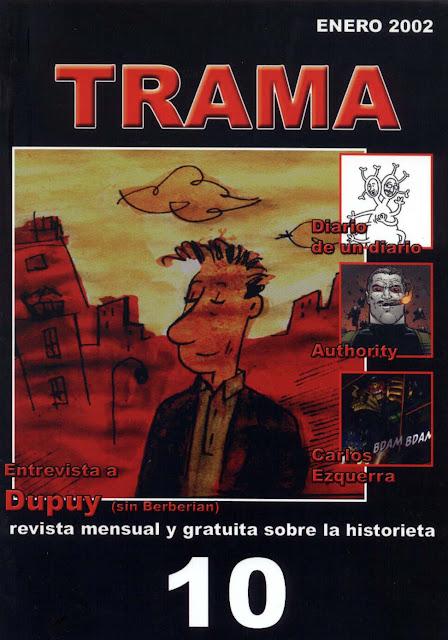 Portada Revista Trama Nº 10